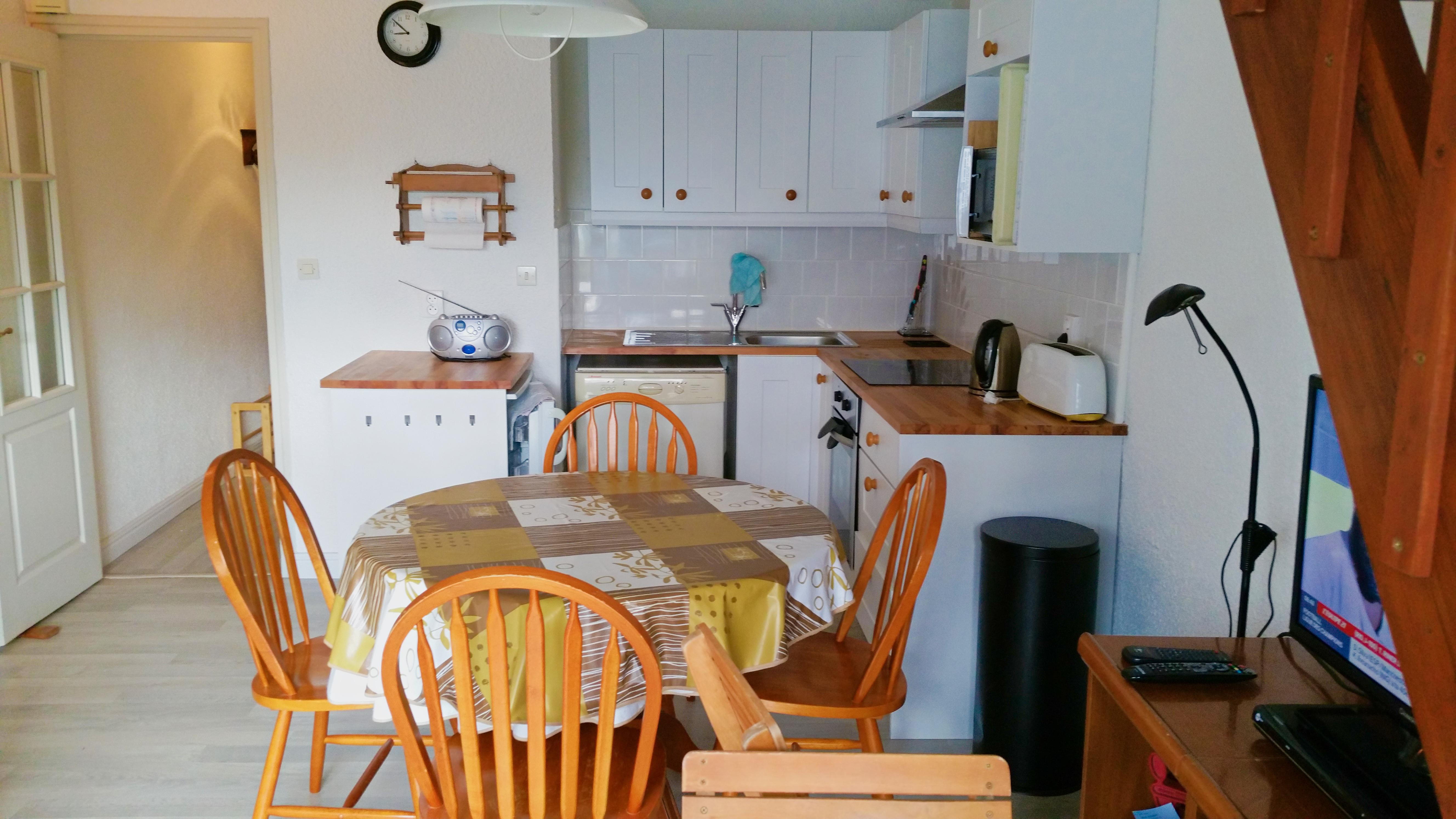 May Village Apartment Le Touquet - Kitchen