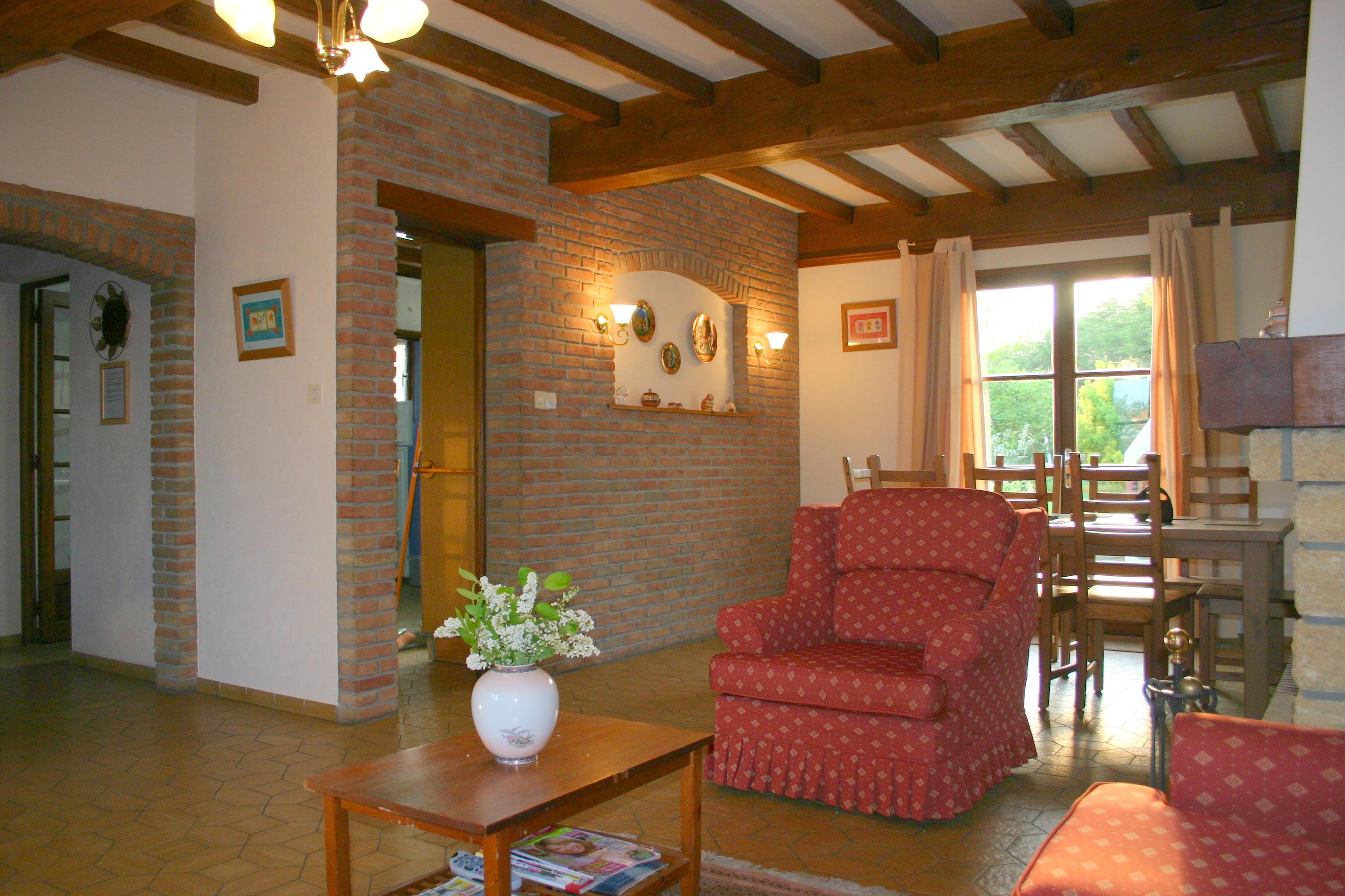 St Josse Lounge - Le Toquet Farmhouse Rental