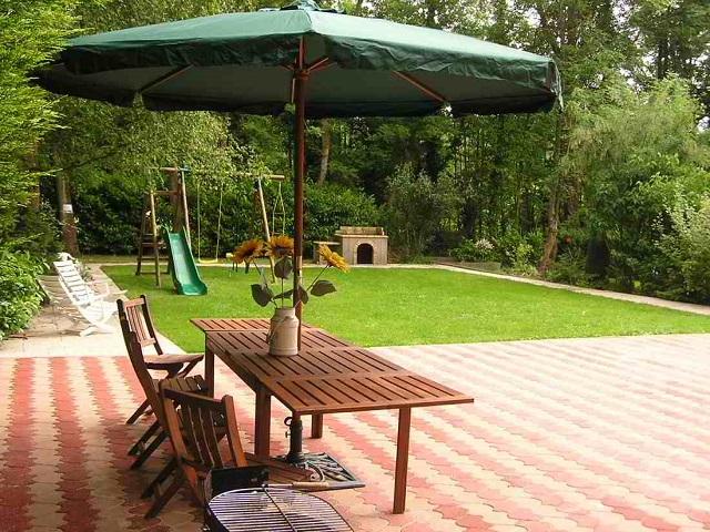 Garden Le Touquet Villa to Rent Ideal for Children