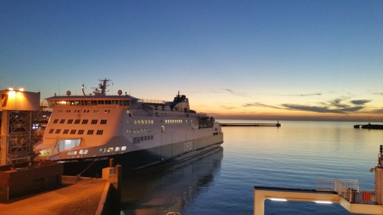 DFDS Ferry Dover Port