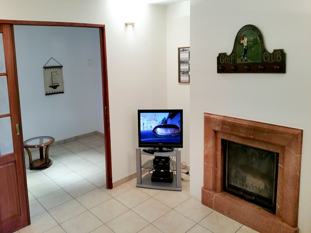 St Andre Villa TV Lounge - Le Touquet Holiday Rental