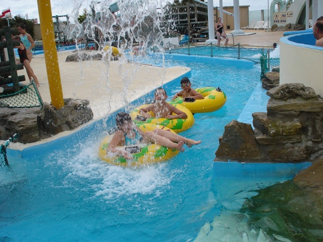 Aqualud Water Park Le Touquet Outside River