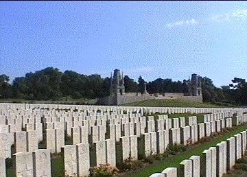 Etaples War Grave Cemetary