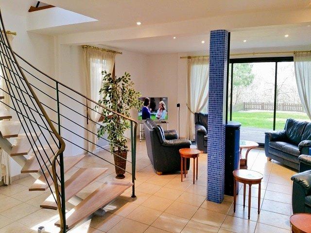 St Andre Villa Le Touquet Lounge