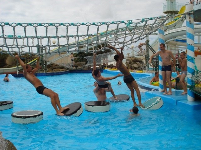 Aqualud Water Park Outside