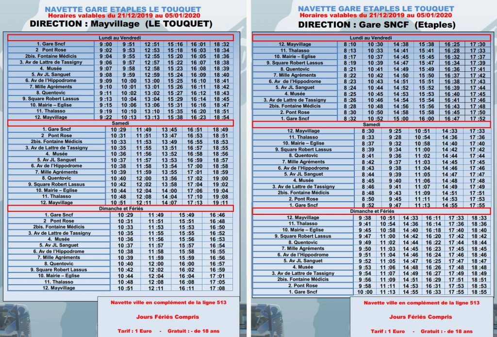 Le-Touquet-To-Etaples-Railway-Station-Bus-Timetable