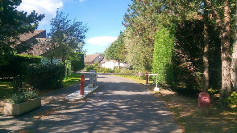 May Village Barrier Entrance