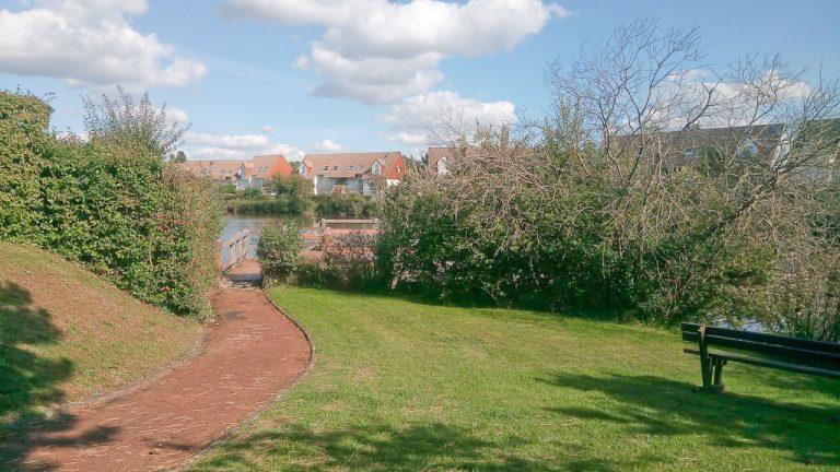 May Village Lake Pathway