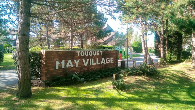 May Village Sign