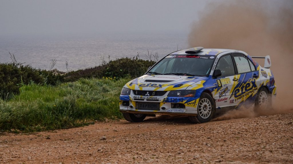 Rally Car Le Touquet