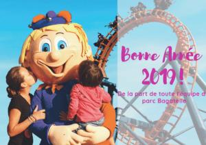 Bagatelle theme Parc 2019