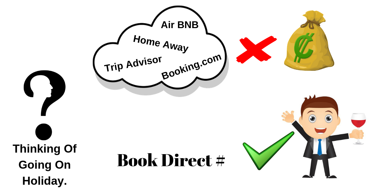 How To Book Direct – Save Money