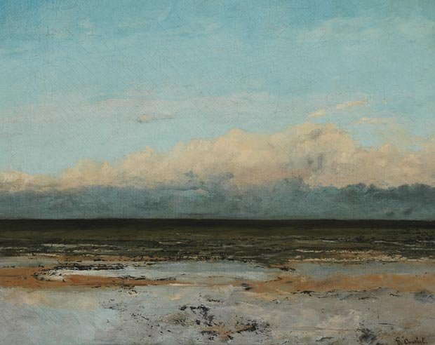 Gustave Courbet, Marée montante (Incoming Tide), 1860-1865, Museum of Boulogne sur mer