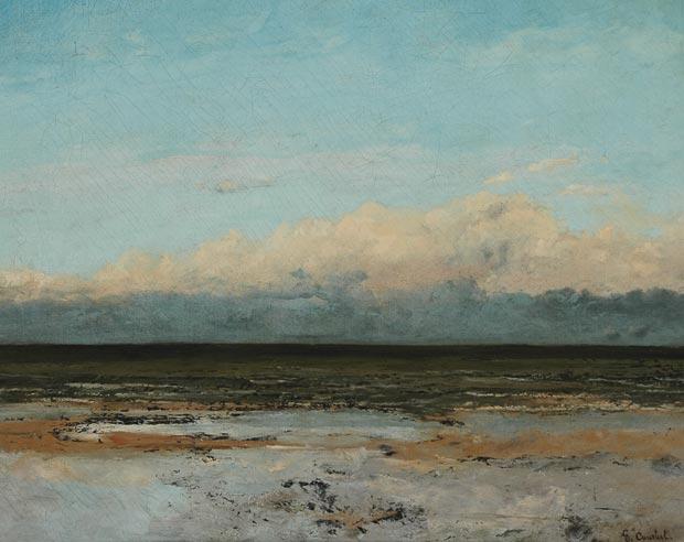 Gustave Courbet, Marée montante (Incoming Tide), 1860-1865, Museum of Boulogne sur mer