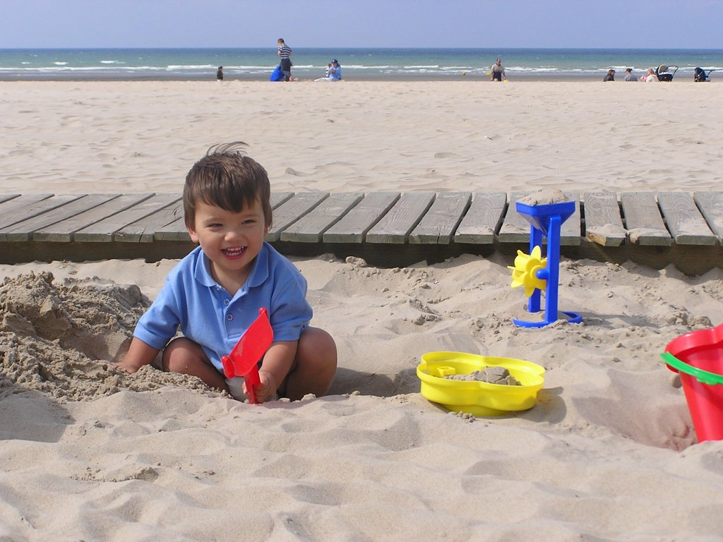 Le Touquet Beach Child