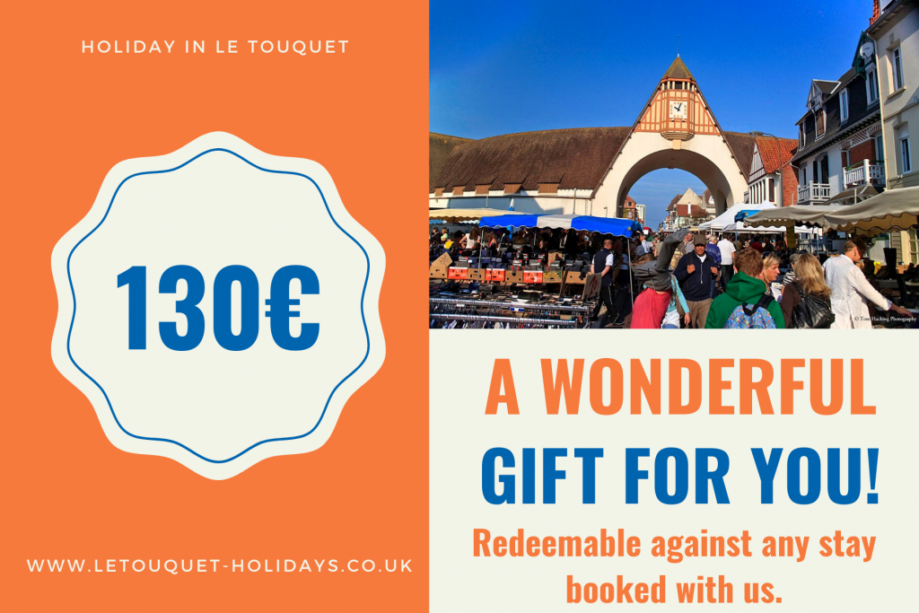 Holiday Voucher Le Touquet €130