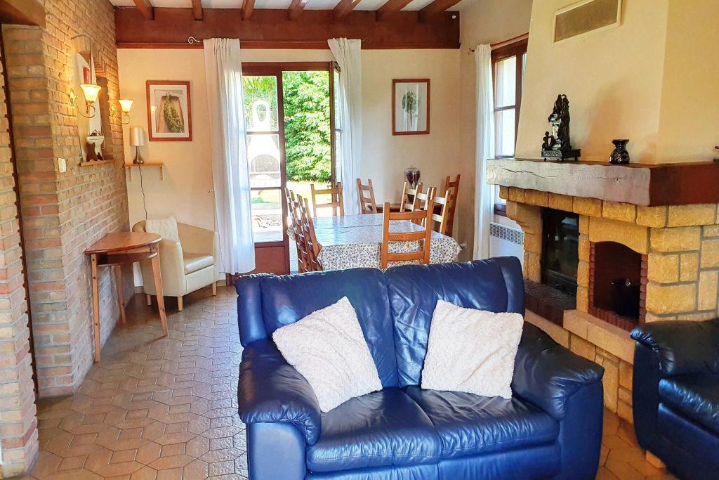 St Josse Farmhouse Rental-Lounge